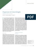 Hypnose Et Neurologie