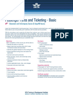 Training Talf28 Passenger Basic Fares