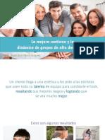 CONFERENCIA - La mejora continua y la dinámica de grupos de alto desempeño