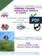 IMAGEN PERSONAL Y VALORES ORGANIZACIONALES II.ppt