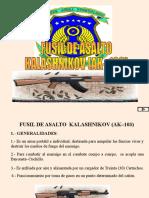 Fusil de Asalto Kalashnikov (Ak–103)