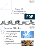 08. Inventory Concepts & Planning Resources