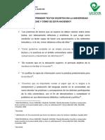 10 Ideas Enseñar a Comprender Textos Escritos en La Universidad- Santiago López Durango