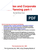 Income-tax and Corporate Tax Planning Part- I By Navdeep Kaur.pdf