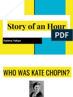Story of an Hour Kate Chopin - Fatima Yahya