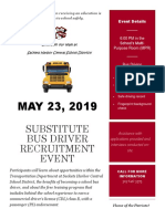 Sackets Harbor Central Bus Driver Recruitment