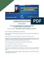 """Qui sont les élus et responsables politiques normands qui soutiennent la liste """"Refonder l'Europe, rétablir la France"""""""