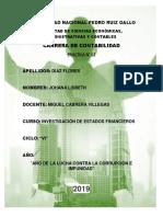 Investigacion Finaciera