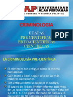3 Etapas de La Criminologia ( 3 )