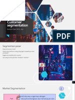 1. Customer Segmentation