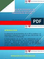 Estinacion de Las Inversiones y Del Financiamiento - Sesion 10