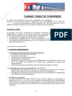 Cahier Charge Syndic