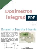 Dosímetros Integrados. Seminario