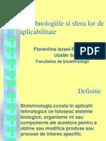 Israel Biotehnologii Indagra