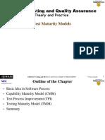 Test Maturity Models