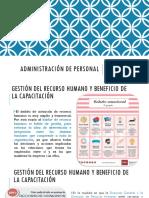 GESTION DEL RECURSO HUMANO Y BENEFICIOS (M.A.TATIANAGALEANA)