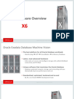 Exadata X6 Hardware Overview