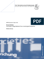 Dewey, Matías.the Study of Illegal Markets From a Sociological Perspective