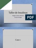 021 - Taller de Insulinas