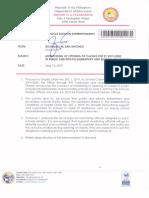 Regional Memorandum No. 299 s.2019