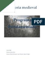 Historia medieval, programa fundamentado. 2017.docx