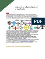 Símbolos y Signos de La Religión