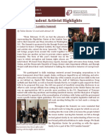 Mgrublian Center for Human Rights Newsletter (Winter 2018-19)