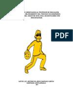 Proyecto de Orientaciòn Al Profesor de Educaciòn Fìsica Para El Mejoramiento Del Proceso de Enseñanza Aprendizaje Del Juego de Goal Ball en Escolares Con Discapacidad