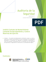 Auditoria de la seguridad