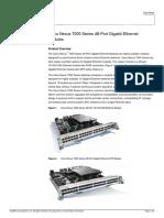 Cisco Nexus 7000 Series 48-Port Gigabit Ethernet Module