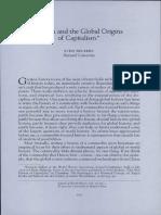 SVEN BECKERT, Cotton and the global origin of capitalism