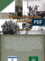 konflikt izraelsko- arabski