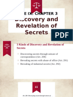 Discovery and Revelation of Secrets RPC
