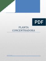 Proyecto de una planta concentradora