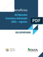 Beneficios OEA Exportador