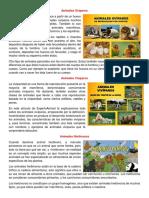 Animales Ovíparos, viviparos, hervivoros, omnivoros, verteebrados e invertebrados y carnivoro.docx