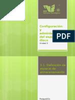 Manejo de espacio en bases de datos (tablespaces postgresql)