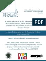 Gacetilla de Prensa 10 de Abril - Día Del Investigador Científico