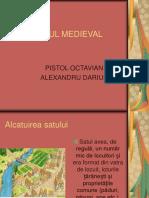 Pistol Octavian Satul Medieval