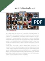 Elecciones  2019 Guatemala
