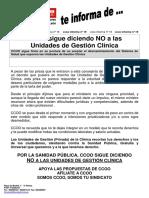 UNIDADES DE GESTIÓN CLÍNICA