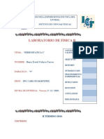 Informe de Hidrostatica 1 para Laboratorio de Fisica B