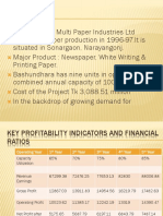 Bashundhara Paper Mill Presentation