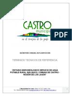 2017 Ttr Estudio Hidrogeologico Quilquico Rev A