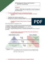 Introduction to Management Midterm Exam Preparation