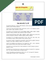 1. Reglas de Ortografía