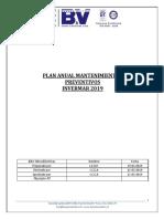 Informe Plan Anual Mantenimiento Preventivo Invermar 2019