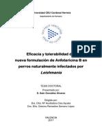 Eficacia y tolerabilidad de una nueva formulación de Anfotericina B en perros naturalmente infectados por.pdf