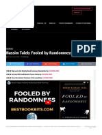 Nassim Taleb_ Fooled by Randomness Book Summary | Bestbookbits | Daily Book Summ