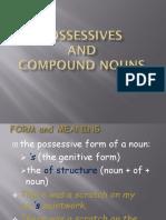 Possessive s